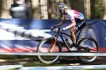 Ondřej Cink při závodě Světového poháru v Les Gets.