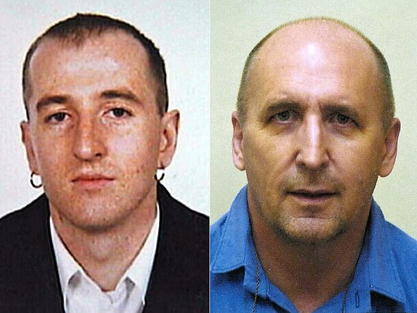 Roman Čabrada (vlevo) a Rostislav Roztočil na snímcích zroku 2005, kdy utekli zBor.