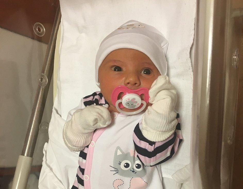 Anežka Annie Kasnerová se narodila 3. ledna ve 21:29 rodičům Martině a Michalovi. Po příchodu na svět ve Fakultní nemocnici na Lochotíně vážila jejich dcerka 3370 gramů a měřila 50 centimetrů.