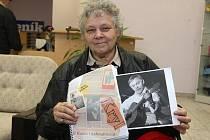 Jiřina Fuchsová, žijící již více než 45 let v Americe, a její kniha o Karlu Krylovi obsahující mnoho dosud nezveřejněných materiálů