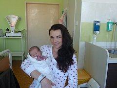 Robin (2,65 kg, 49 cm) se narodil 19. dubna v 10:05 ve Mulačově nemocnici v Plzni. Ze svého prvorozeného chlapečka se radují maminka Eva Rohrsetzerová a tatínek Ivan Pilát z Nýřan.