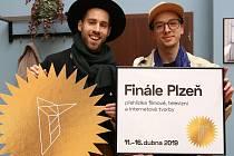 Filmový festival Finále -  moderátoři Petr Vančura a Jan Cina