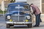 Obrněná prezidentská limuzína, automobil Škoda VOS ve které jezdil Klement Gottwald