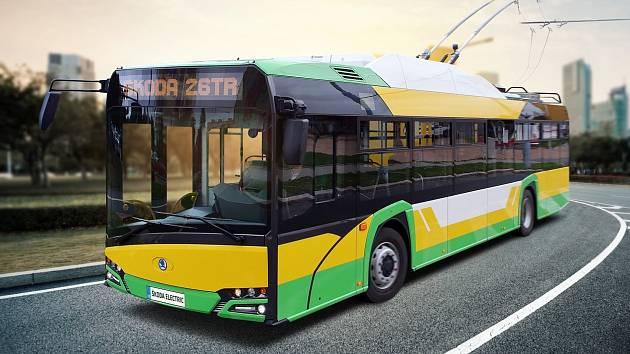 Trolejbusy 26 Tr z plzeňské Škody Transportation jezdí ve slovenské Žilině.
