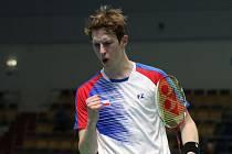 Jan Louda měl velký podíl na skvělém výsledku české reprezentace na mistrovství Evropy družstev v badmintonu.