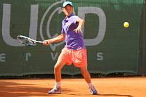 Tenista pražské Sparty Andrew Paulson (na snímku) porazil Nizozemce Lodewijka Weststrada 5:7, 7:5 a 6:2