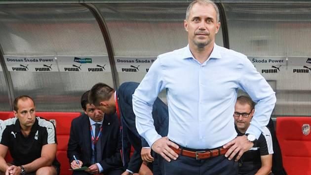 Trenér Viktorie Plzeň Roman Pivarník