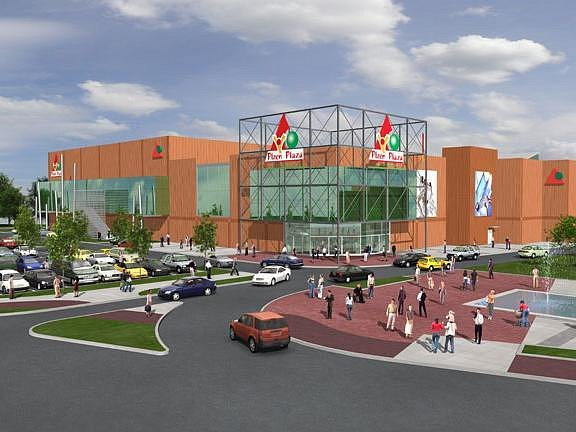 Vizualizace plzeňského komplexu Plaza