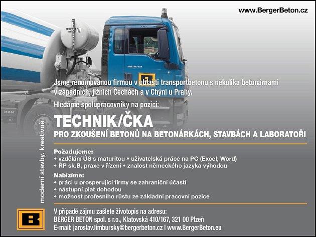- Hledáme spolupracovníky na pozici Technik/čka