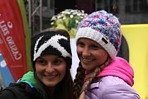 Na dámský trůn světového Ski & Golfu  v rakouském Zell am See usedly Eva (vlevo)a Tereza Koželuhovy.