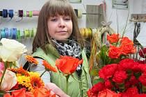 Květa Kubrová z plzeňského zahradnického centra Rašelina Fišer
