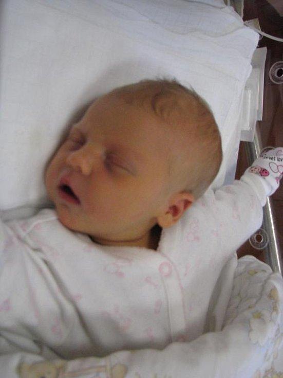 Prvorozenou Elišku (3,45 kg, 51 cm) přivítali na světě maminka Marcela a tatínek Petr Hoškovi z Plzně. Eliška se narodila 15. listopadu ve 20:00 v plzeňské fakultní nemocnici