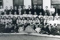 Dělnická tělovýchovná jednota v Kaznějově v 1. třetině 20. století.