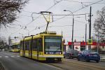 Omezení provozu tramvají na náměstí Milady Horákové.