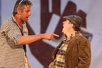 Náměstí Republiky se v sobotu stalo kulisou předpremiéry komedie Lhář