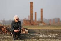 Auschwitz-Birkenau. Eva Lišková se loni zúčastnila pietní akci připomínající jednorázovou vraždu Čechoslováků