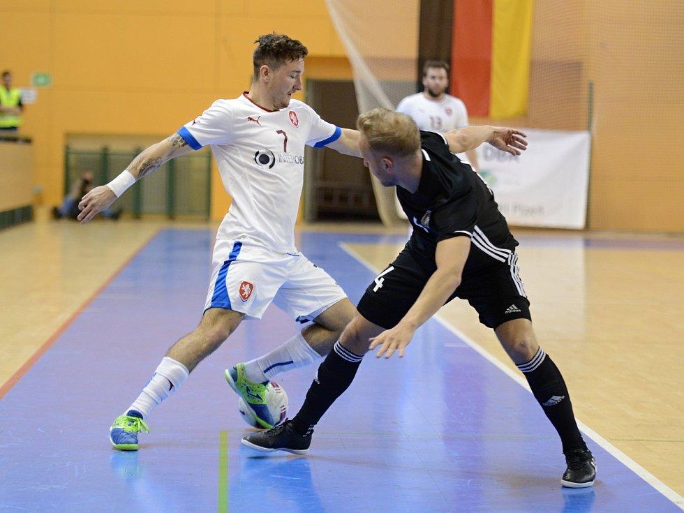 Přípravný zápas v plzeňské hale Lokomotiva vyhrál český tým nad Německem vysoko 13:2.
