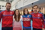 Zleva Michal Kovács, Nicole Nehodová, Olga Marešová a Michal Holý.