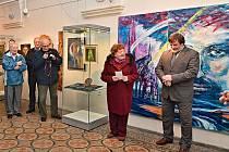 Výstava Současné sakrální umění na Plzeňsku v Muzeu církevního umění plzeňské diecéze chce ukázat vazby umělce nejen s křesťanskou tematikou