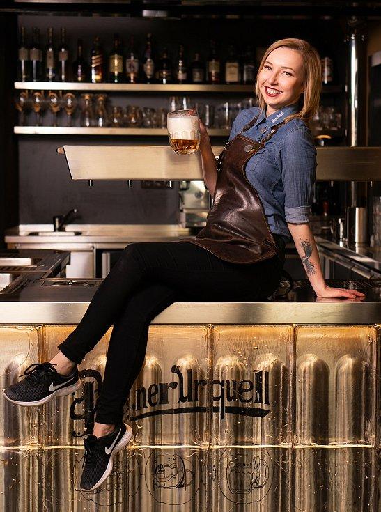 Martina Navrátilová z Plzně svůj profesní život zasvětila pivu.