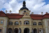 Lovecký pokoj v zámku Nebílovy