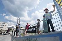 Otevření nového skateparku ve Škoda sport park Plzeň