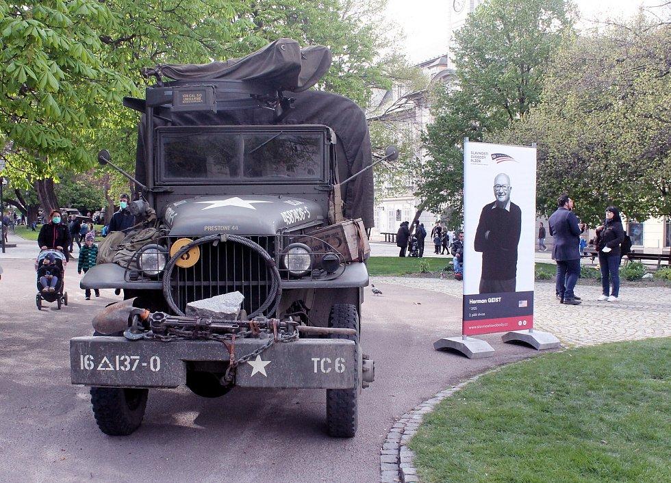 Ze slavností svobody 2021 v Plzni.