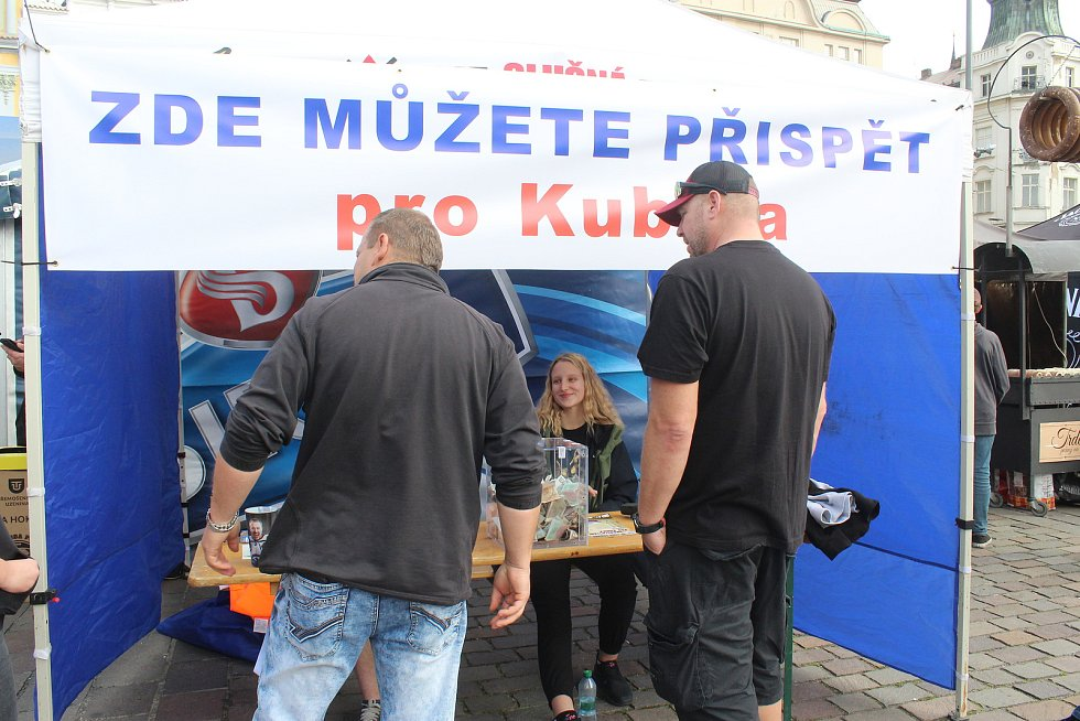 Sraz amerik pro Kubíka v Plzni.