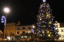 Vánoční strom v Přešticích