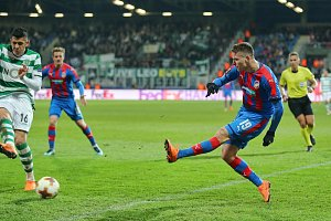 Fotbalisté Viktorie Plzeň vyhráli  osmifinálovou odvetu Evropské ligy nad Sportingem Lisabo