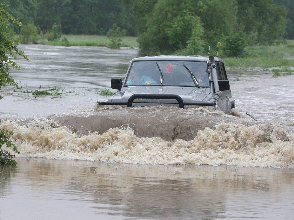 Povodně v Plzni - Koterov