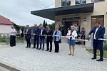 Otevření nového lékařského domu v Plasích.