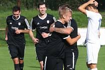 Fotbalisté Rapidu (na archivním snímku) na vlastním hřišti porazili Nepomuk 3:2.