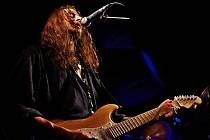 Jan 'Lichta' Lichtenberg, lídr plzeňské rockové kapely Seventh Passion.