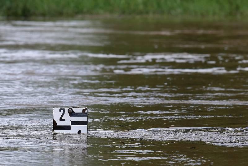 Koterov vodočet řeka Úslava