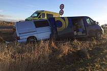 Při úterní nehodě se naštěstí nikdo vážně nezranil.