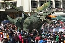Bavorské kulturní dny v Plzni zakončila dračice Fanny.