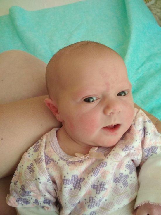 Anežka Štruncová se narodila 8. května ve 23:05 mamince Evě a tatínkovi Adamovi zPotína u Konstantinových Lázní. Po příchodu na svět vMulačově nemocnici vážila sestřička tříletého Jáchyma 3730 gramů a měřila 51 cm.