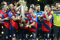 Ve finále Superpoháru porazila Viktoria Plzeň mužstvo Liberce
