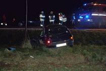 Nehoda v Horní Lukavici.