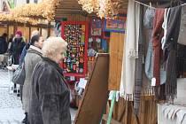 Martinské trhy na náměstí Republiky v Plzni