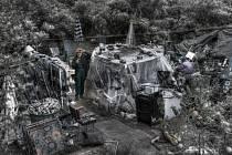 Jaroslav Hausner vystavuje fotografie z periferií Plzně a komunity bezdomovců