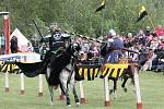 Rytířský turnaj na koňské show ve Škodalandu