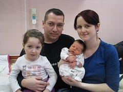 Filip (3,76 kg, 51 cm) přišel na svět 9.ledna ve 21:10 ve Fakultní nemocnici v Plzni. Na světě jej přivítali rodiče Jana a Antonín Bukayovi z Nýřan a čtyřletá sestřička Natálka