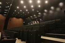 Zkouška představení Divá Bára v Novém divadle