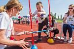 Sportovní hry mateřských škol v Plzni