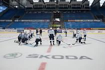 Hokejová Škoda vyjela na led