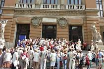 Karlovarský kraj chce stále rekonstruovat budovu Císařských lázní, teď se k tomu bude snažit získat finance z Evropské unie.