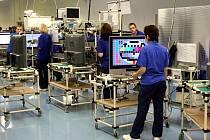 Výrobní závod Panasonic AVC Networks Czech v Plzni. Archivní foto.