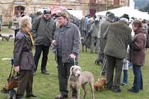Jarní svod loveckých psů na zámku Rochlov